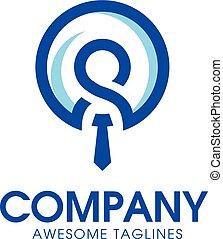 logotipo, direzione