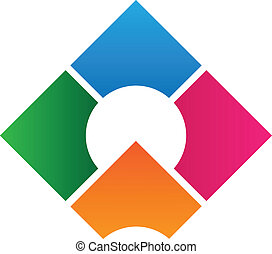 logotipo, diseño, corporativo, plantilla