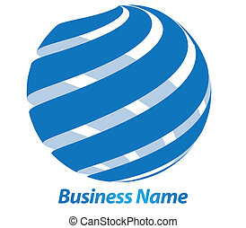logotipo, diseño, empresa / negocio, 3d