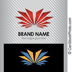 logotipo, disegno, sagoma, creativo