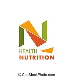 logotipo, ditta, salute, nutrizione
