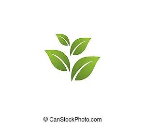 logotipo, ecologia, -, ilustração, vectors