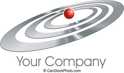 logotipo, elipses