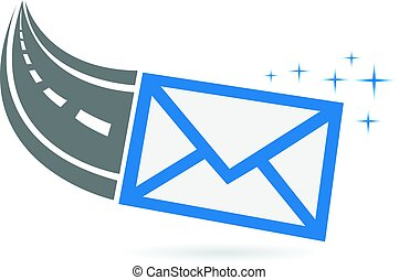 logotipo, email, modo, relativo