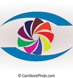 logotipo, estúdio