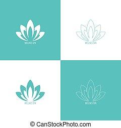 logotipo, Estratto, vettore, elemento