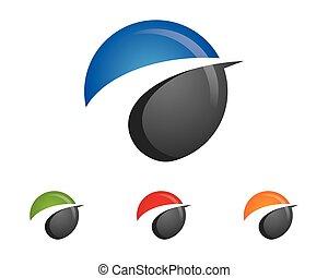 logotipo, estrela, modelo