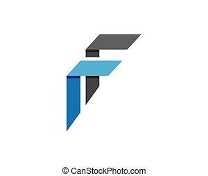 logotipo, finanças, negócio, modelo