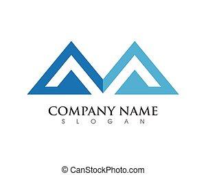 logotipo, finanza, affari