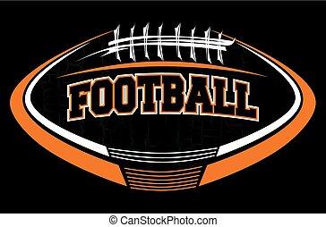 logotipo, football