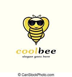 logotipo, fresco, ape