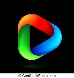 logotipo, gioco