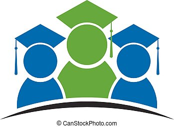 logotipo, graduazione, classe, studente