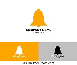 logotipo, icono, vector, ilustración, diseño, plantilla, bel