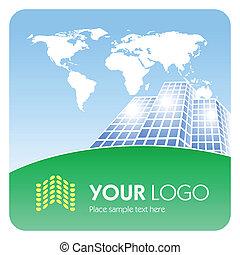 logotipo, incorporado