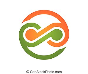 logotipo, infinidade