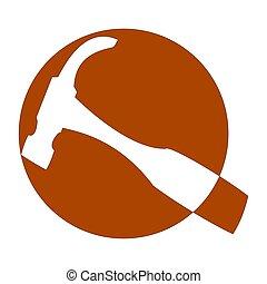 logotipo,  joiners, carpinteiros