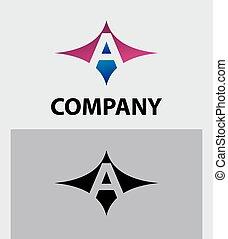 logotipo, letra, ícone