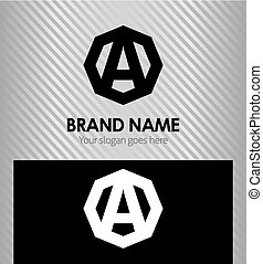 logotipo, letra