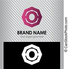 logotipo, letra, este prego