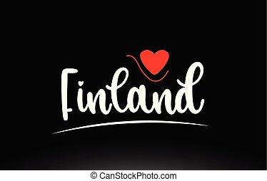 logotipo, país, finland, tipografia, desenho, fundo, texto, pretas, ícone