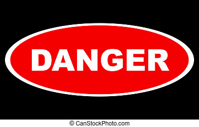 logotipo, perigo