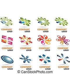 logotipo, progetto serie