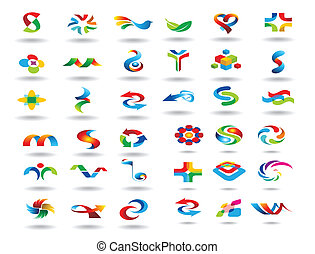 logotipo, projete elementos