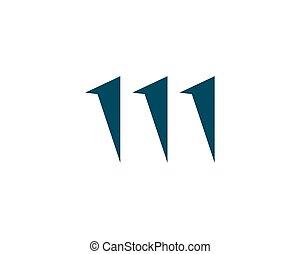 logotipo, represa, vetorial, ilustration