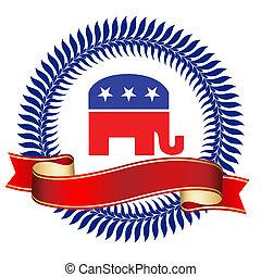 logotipo, republicano