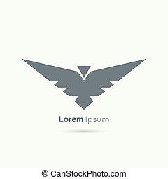 logotipo, resumen, vector, diseño, template.
