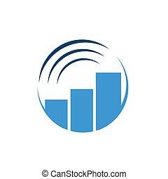 logotipo, símbolo, vetorial, desenho, conceito, aplicação, wifi, negócio, gráfico, mapa