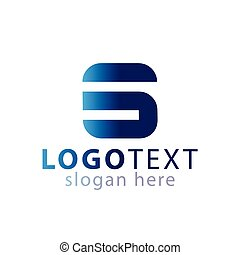 logotipo, s, vettore, lettera, iniziale