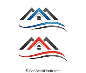 logotipo, sagoma, proprietà