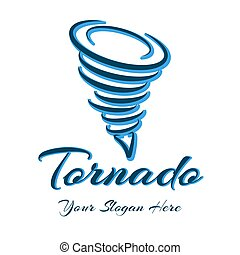 logotipo, segno, tromba d'aria