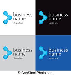 logotipo, tecnologías, innovador