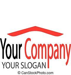 logotipo, tetto