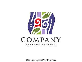 logotipo, tienda, tradicional, handcrafted