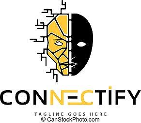 logotipo, unidade, vetorial