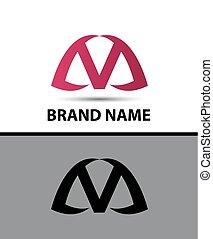 logotipo, v, desenho, letra, ícone