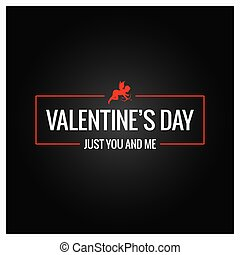 logotipo, valentines, borda, dia, fundo