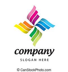 logotipo, vector, competición