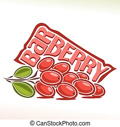 logotipo, vetorial, barberry