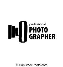 logotipo, vetorial, fotógrafo