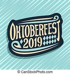 logotipo, vetorial, oktoberfest
