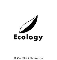 logotipo, vettore, ecologia