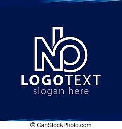 logotipo, vettore, lettera, sagoma, iniziale