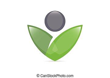 logotipo, vettore, salute