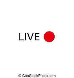 logotipo, viver, fluxo