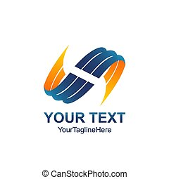 logotipos, abstratos, ilustração, vetorial, modelo, tal, ícone, element., 3d
